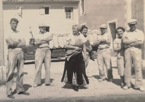 famille Giral minoterie historique