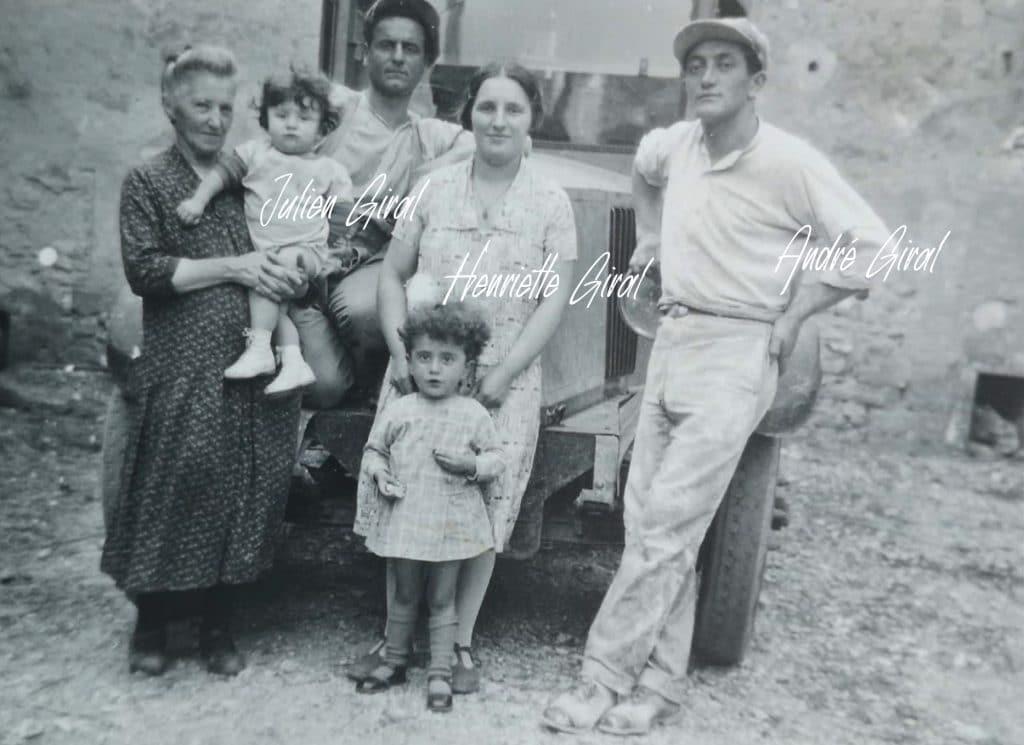 Famille Giral meunier