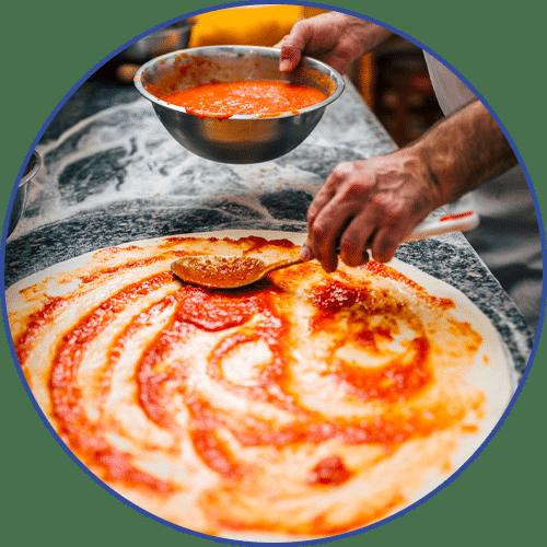farine pâte à pizza